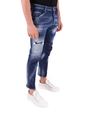 a sigaretta - Jeans Clement a gamba dritta effetto délavé