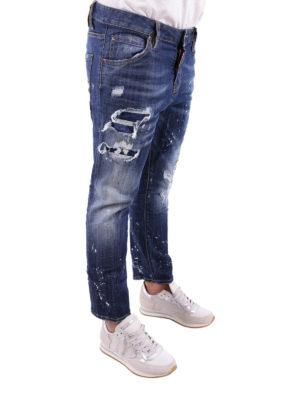 a sigaretta - Jeans Cool Girl Cropped slavati