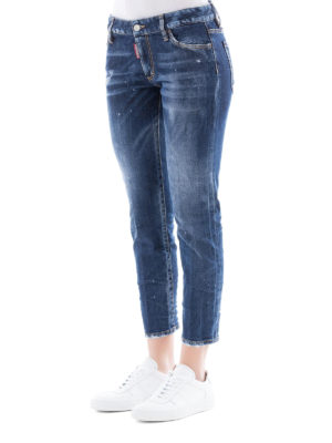 a sigaretta - Jeans High Waist Cropped Twiggy