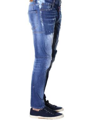 a sigaretta - Jeans in denim scolorito Tidy Biker