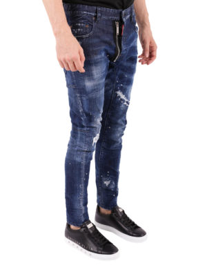 a sigaretta - Jeans Tidy Biker The Dsquared2 Dude