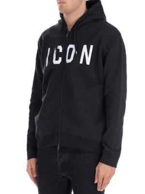 DSQUARED2: Felpe e maglie online - Felpa Icon con zip