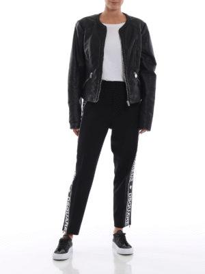 DSQUARED2: pantaloni sport online - Pantaloni della tuta in cady di lana