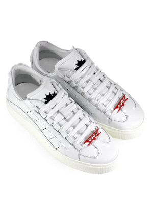 DSQUARED2: sneakers online - Sneaker 551 in pelle di vitello