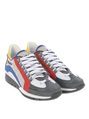 DSQUARED2: sneakers online - Sneaker 551 multicolore