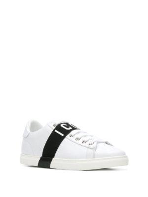 DSQUARED2: sneakers online - Sneaker Icon Low in pelle