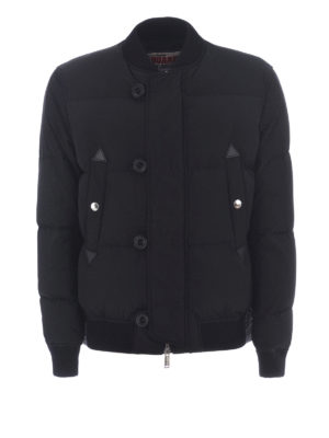 Dsquared2: padded jackets - Down padded bomber jacket