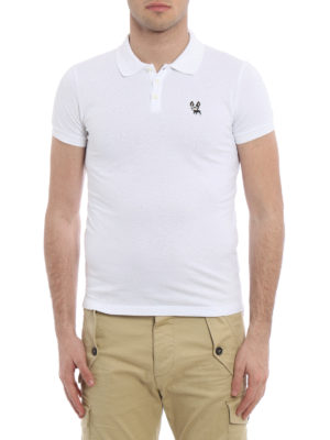 Dsquared2: polo shirts online - Cotton pique polo shirt