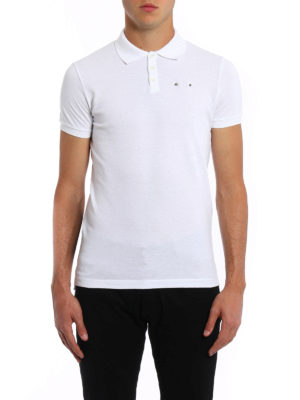 Dsquared2: polo shirts online - Piercing pique polo