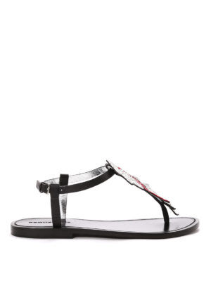 Dsquared2: sandals - Jewel thong sandals