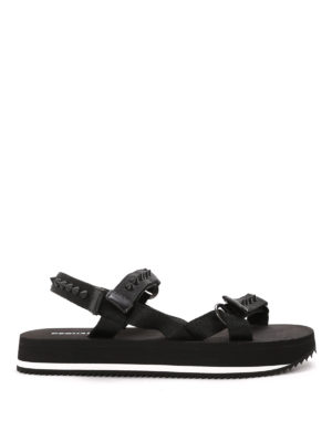 Dsquared2: sandals - Studded velcro sandals