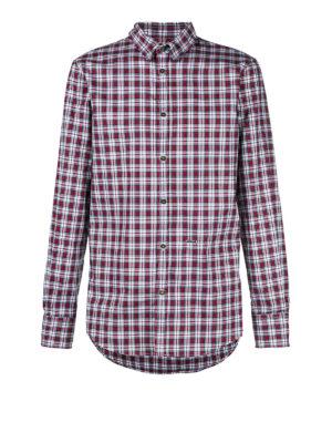 DSQUARED2: camicie - Camicia in cotone motivo a quadri