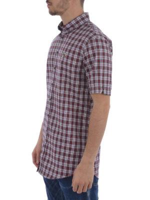 Dsquared2: shirts online - Check pure cotton shirt