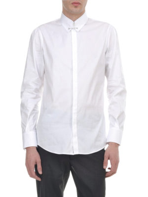 Dsquared2: shirts online - Pin collar cotton shirt