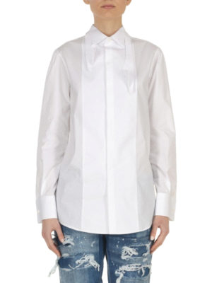 Dsquared2: shirts online - Stretch cotton shirt