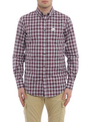 Dsquared2: shirts online - Tartan cotton b/d shirt