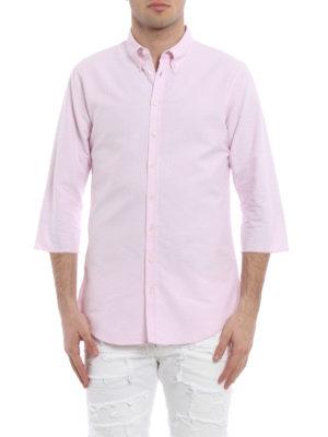 Dsquared2: shirts online - Three quarter sleeve cotton shirt