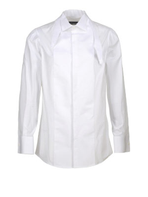 Dsquared2: shirts - Stretch cotton shirt