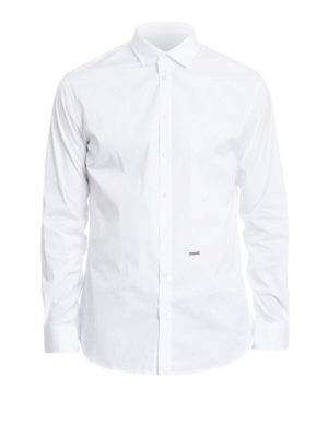 Dsquared2: shirts - Stretch poplin shirt