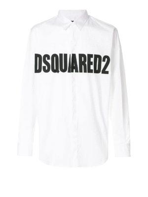 DSQUARED2: camicie - Camicia Stretch Relax Dan