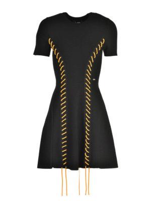 Dsquared2: short dresses - Coloured laces dress