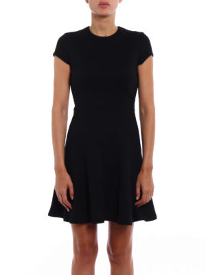 Dsquared2: short dresses online - Knitted wool blend fitted dress