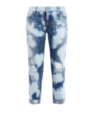 Dsquared2: skinny jeans - Glam Head jeans