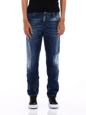 Dsquared2: skinny jeans online - Cool Girl long crotch jeans