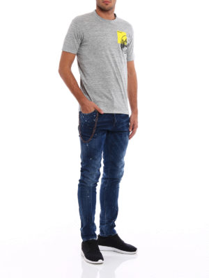 Dsquared2: skinny jeans online - Cool Guy jeans with keyholder