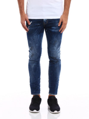 Dsquared2: skinny jeans online - Distressed skinny jeans