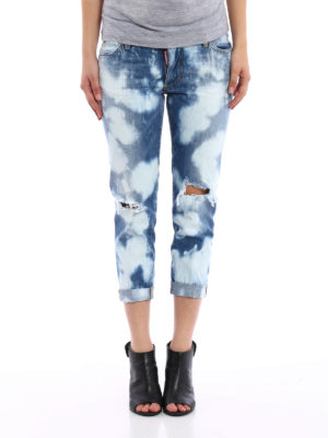 Dsquared2: skinny jeans online - Glam Head jeans