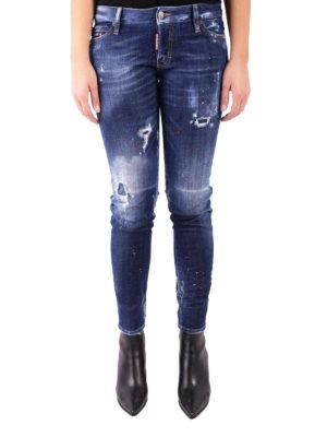 Dsquared2: skinny jeans online - Jennifer used effect skinny jeans
