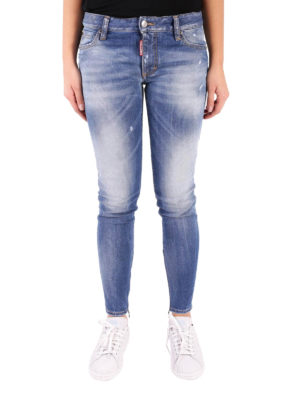 Dsquared2: skinny jeans online - Light Medium Waist Twiggy Jeans