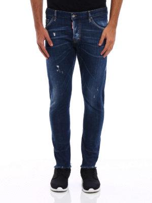 Dsquared2: skinny jeans online - Sexy Twist crop jeans