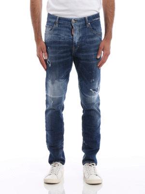 Dsquared2: skinny jeans online - Skater Jeans