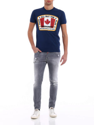 Dsquared2: skinny jeans online - Skater tight bottom jeans