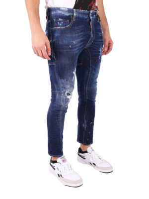 Dsquared2: skinny jeans online - Tidy Biker skinny jeans