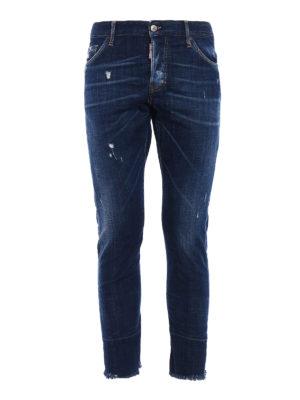 Dsquared2: skinny jeans - Sexy Twist crop jeans