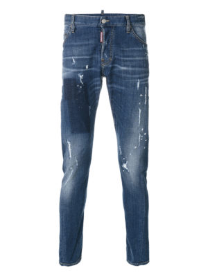 Dsquared2: skinny jeans - Sexy Twist faded jeans