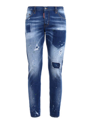 Dsquared2: skinny jeans - Sexy Twist light wash jeans