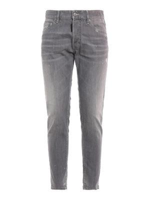 DSQUARED2: Jeans pitillos - Vaqueros Pitillos - Skinny Dan