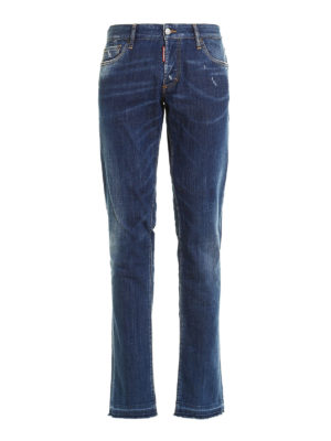 Dsquared2: skinny jeans - Slim denim jeans