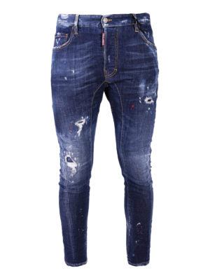 Dsquared2: skinny jeans - Tidy Biker skinny jeans