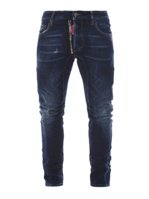Dsquared2: straight leg jeans - Be Cool Be Nice cotton jeans