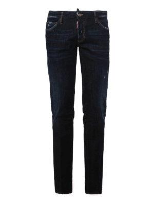 Dsquared2: straight leg jeans - CLASSIC FIVE POCKET JEANS