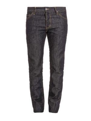 Dsquared2: straight leg jeans - Coloured denim  jeans