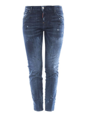Dsquared2: straight leg jeans - Cool Girl drop crotch jeans