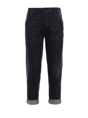 Dsquared2: straight leg jeans - Hockney jeans