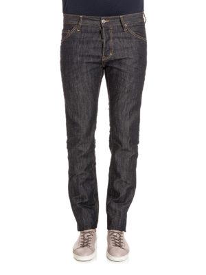 Dsquared2: straight leg jeans online - Coloured denim  jeans