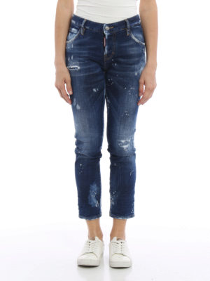 Dsquared2: straight leg jeans online - Cool Girl jeans